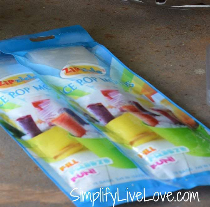 Homemade 100 Fruit Popsicles - Fla-Vor-Ice Healthified - zipzicle molds #ad #ALDI {from SimplifyLiveLove.com}