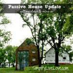 Passive House Update - drywall, floor tile, & Big Ass fans from SimplifyLiveLove.com