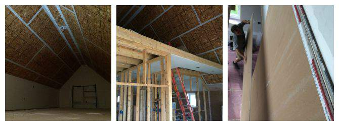 Passive House Update - getting drywall up to the 4th floor from SimplifyLiveLove.com
