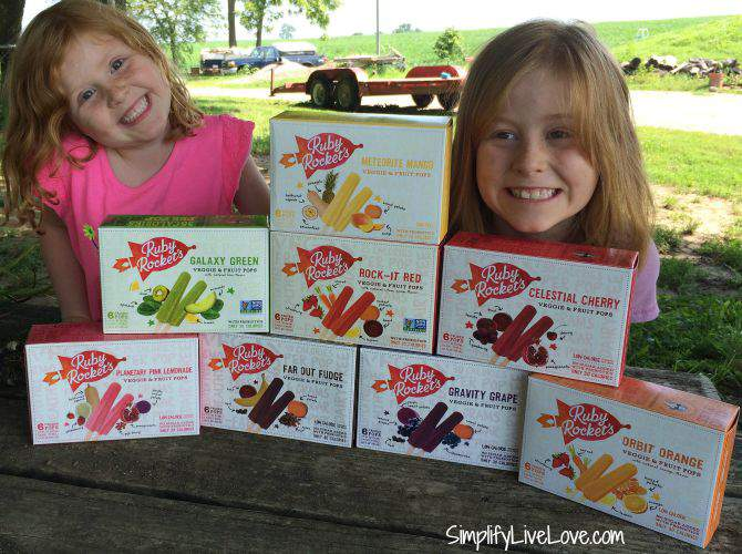 Summer Fun with Ruby Rocket's Fruit & Veggie Pops - More Healthy Snacks! good mail day from SimplifyLiveLove.com
