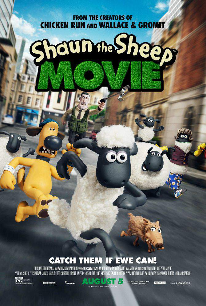 Big Cheers for he new #ShauntheSheep Movie coming to theaters Aug 5, 2015  #ad #IC
