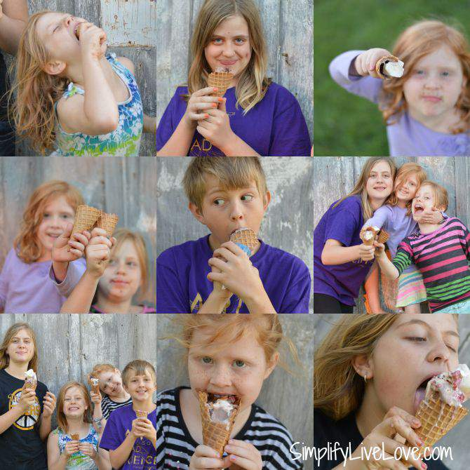 How to Make the Perfect Ice Cream Cone #FinalConeDown from SimplifyLiveLove.com