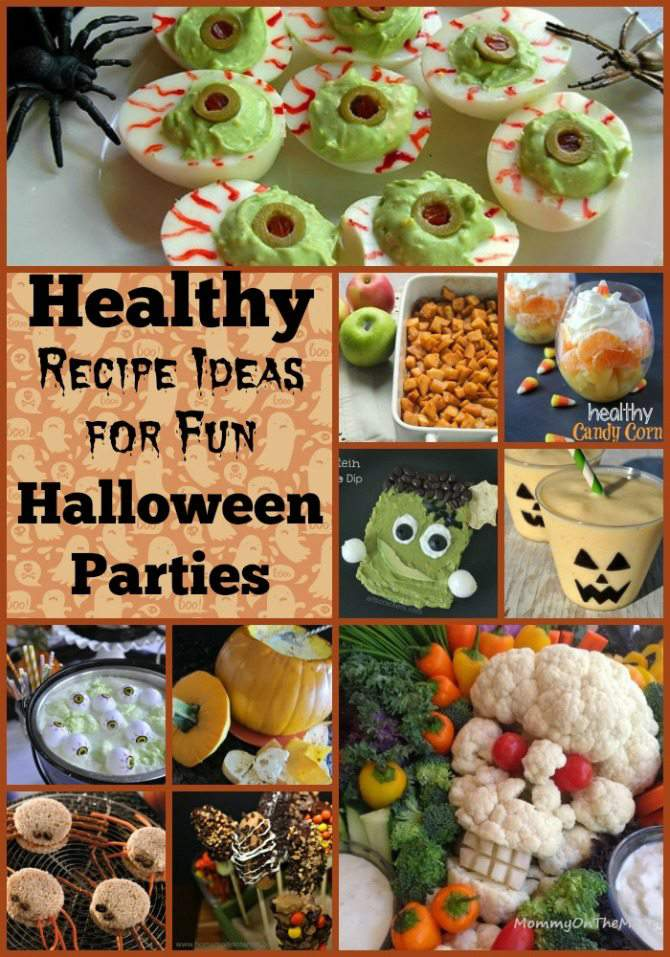 15 Healthy Recipe Ideas for Fun Halloween Parties from SimplifyLiveLove.com