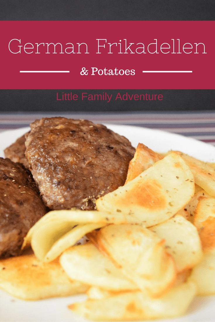 German Frikadellen Recipe With Pan Fried Potatoes