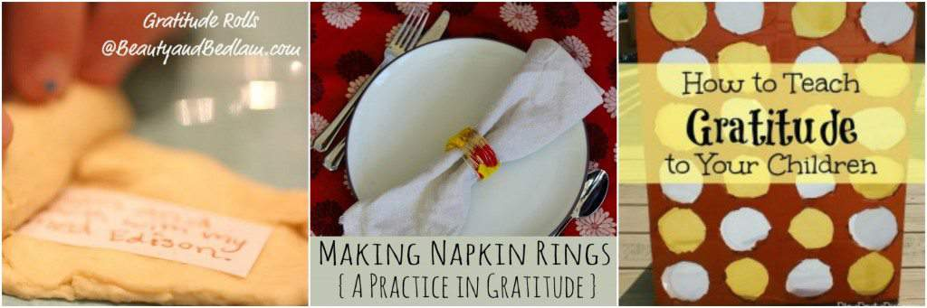 Teaching gratitude with these fun activites and crafts.