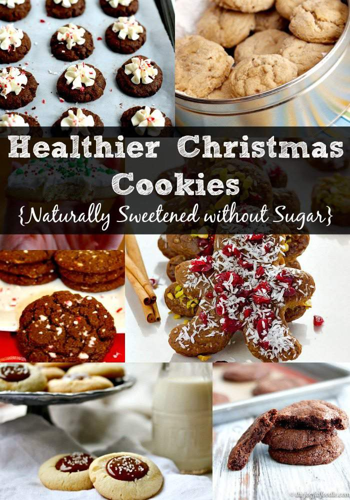 Healthier Christmas Cookies {Naturally Sweetened without Sugar}