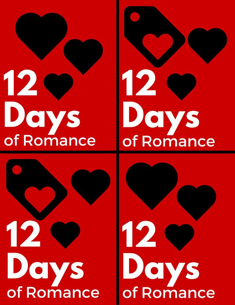 12 Days of Romance free printable for love notes for your husband