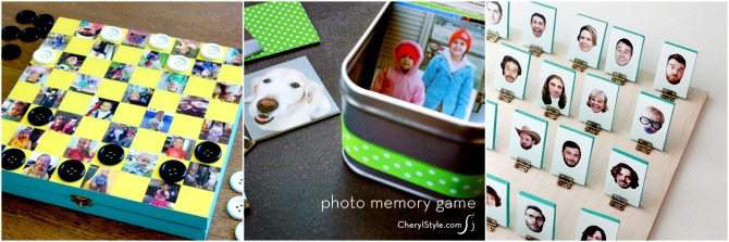 18 DIY Christmas Gifts Made with Photographs from SimplifyLiveLove.com - Picture GIfts for the family.