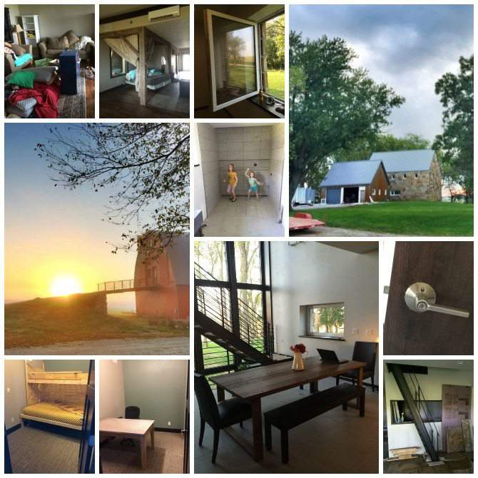 Out of barn and into unfinished passive house - 2015 in review. Our year on a 5 acre Iowa homestead. from SimplifyLiveLove.com