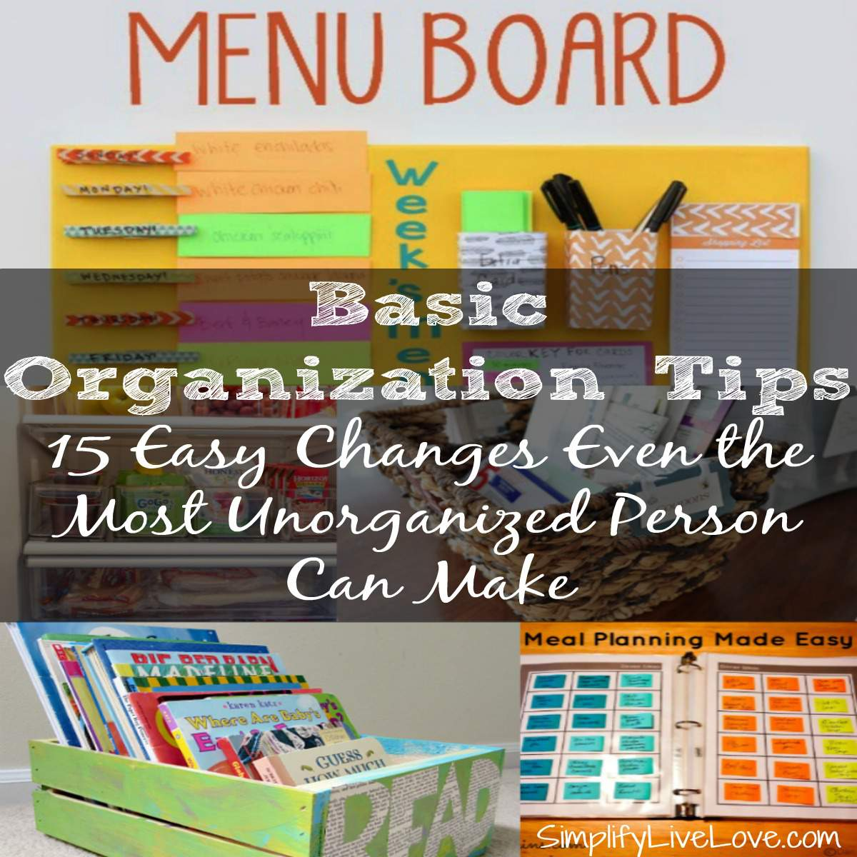 Home Organization Tips 15 Easy Changes Even The Most