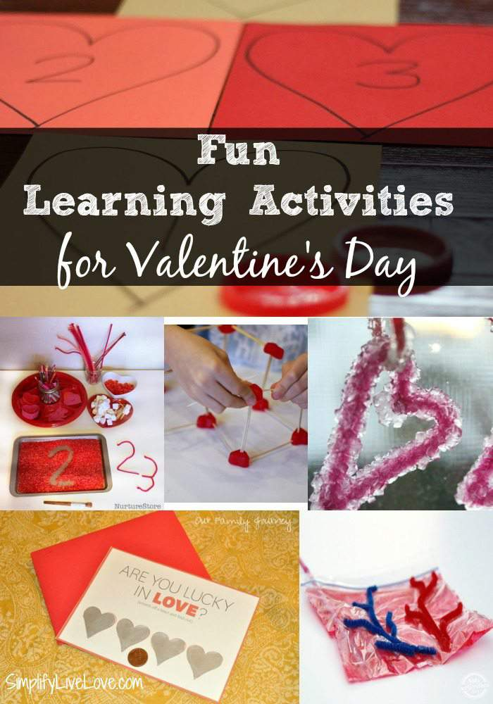 Here is a list of fun Educational Valentine Party Ideas, including Valentine Stem activities, Valentine math worksheets, Valentine reading and writing prompts that you elementary school aged children will actually enjoy.