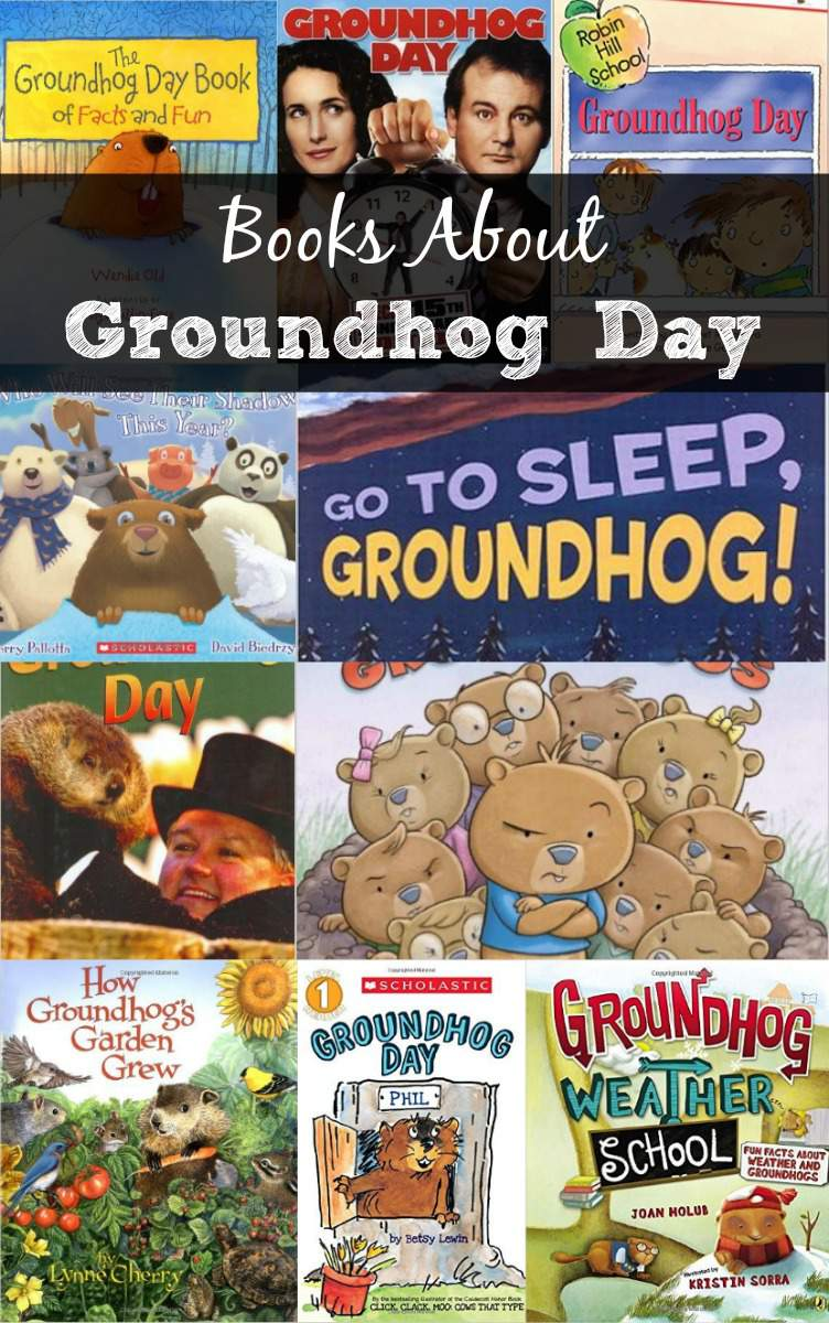 Books About Groundhog Day