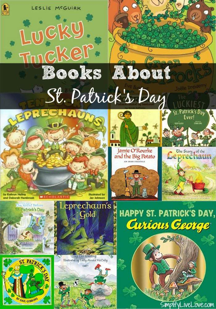 Books About St Patrick's Day