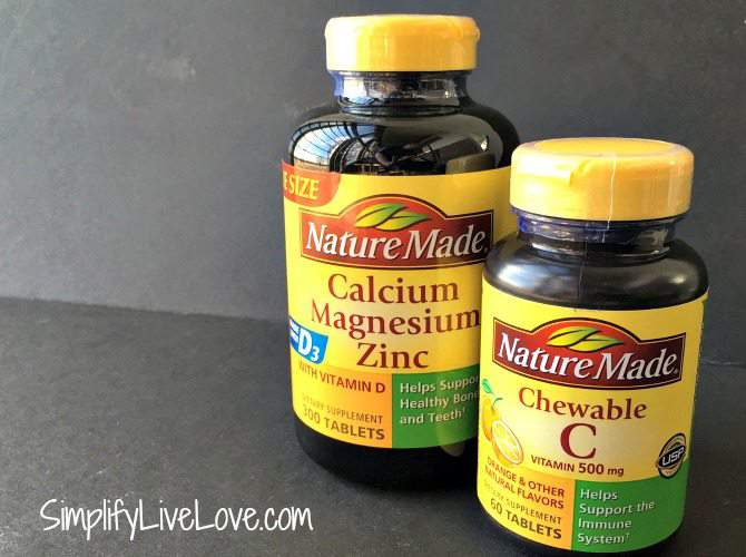 Boost Immunity with Nature Made Vitamin Supplements