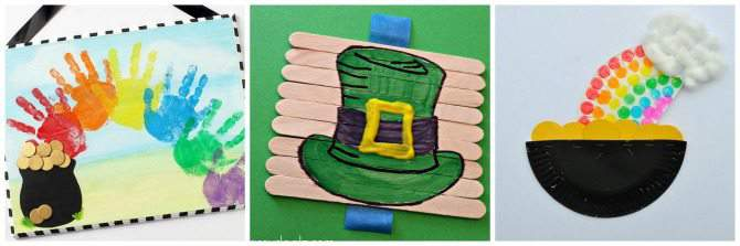 Fun Arts & Crafts for St. Patrick's Day