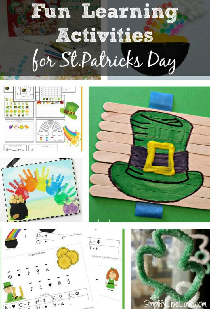 Fun Learning Activities for St.Patricks Day