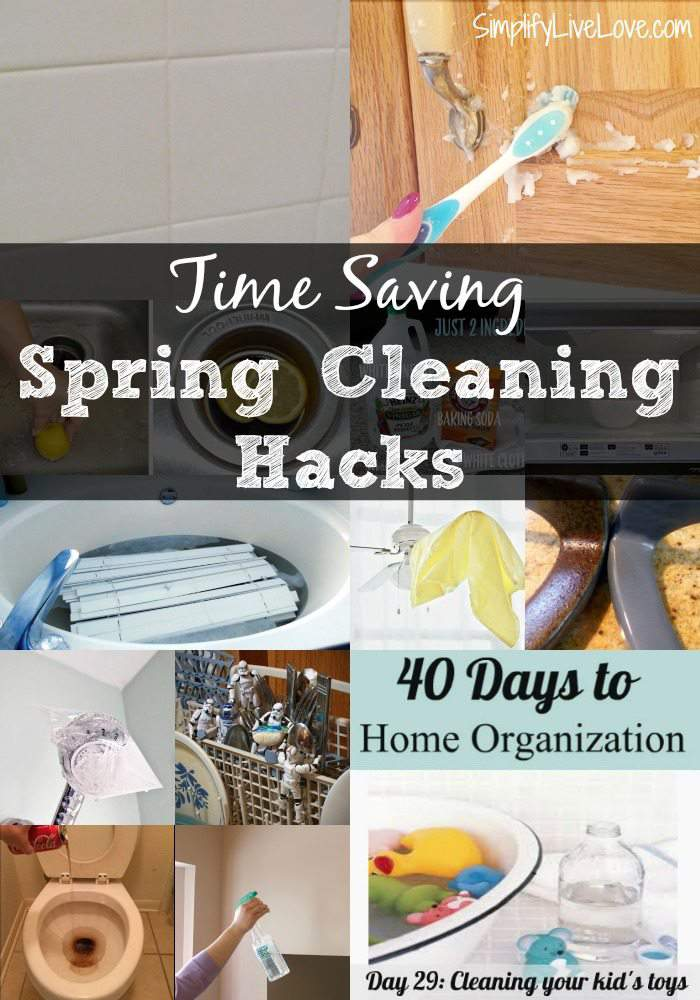 Time Saving Spring Cleaning Hacks