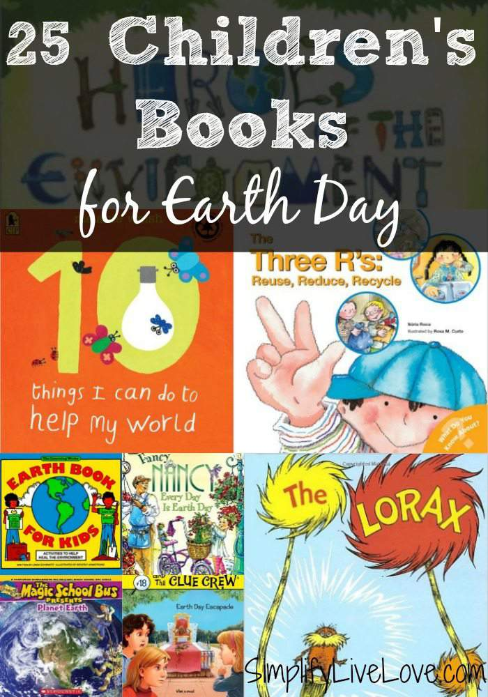 25 Children's Books for Earth Day. These fun and multi-age Earth Day Learning Activities are a great way to teach children to take care of the earth. Add a couple to Earth Day this year.