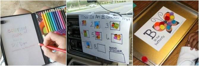 Creative activities for road trips