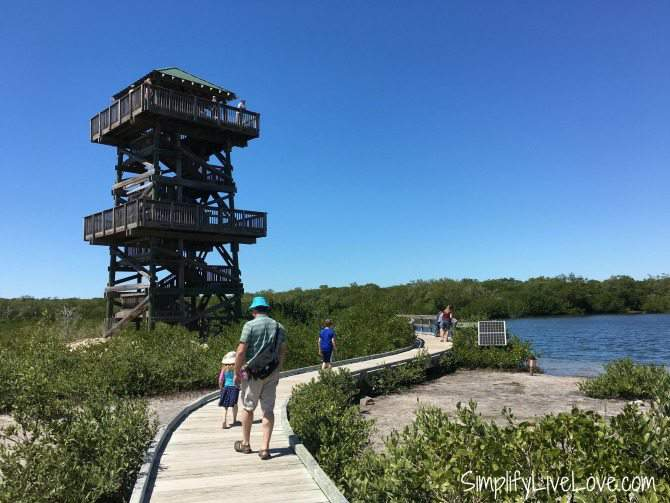 Observation Tower at Robinson Preserve in Bradention, Florida
