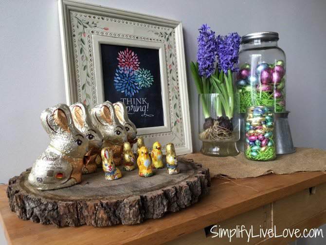 Spring Easter Display Ikea Cart Hack