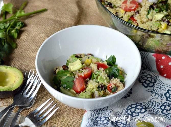 Texas Caviar Quinoa Salad