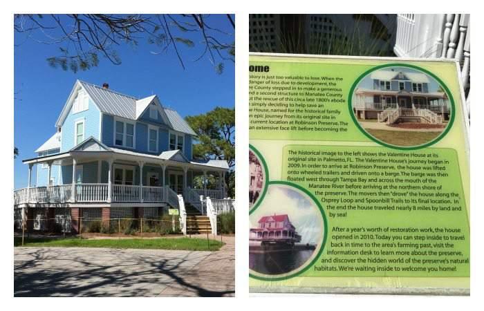 Valentine House at Robinson Preserve in Bradenton, Florida