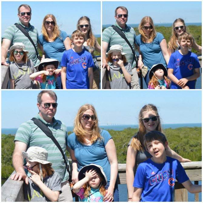 family photos at Robinson Preserve