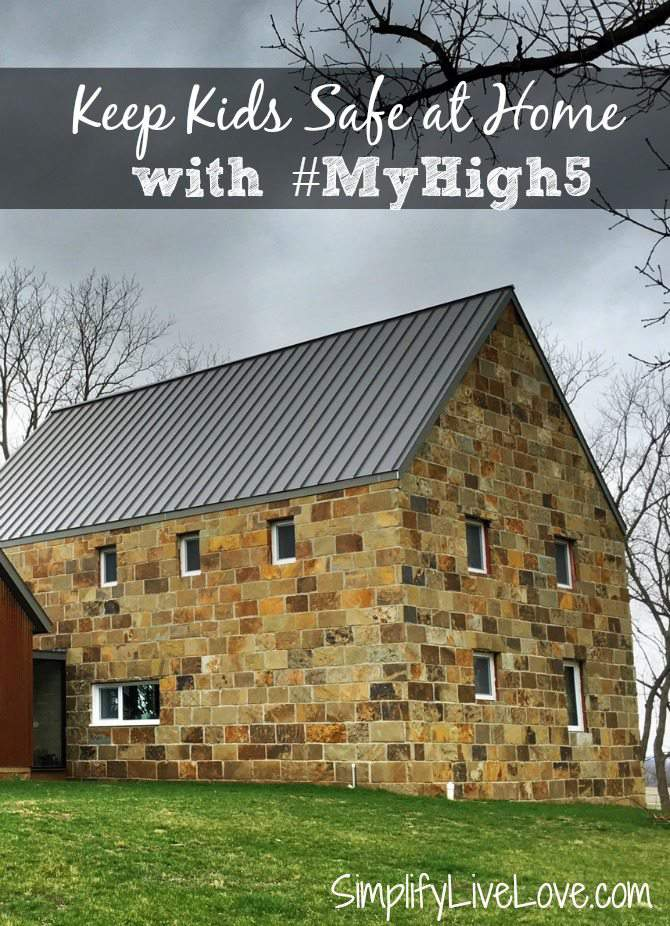 Keep kids safe at home with #MyHigh5