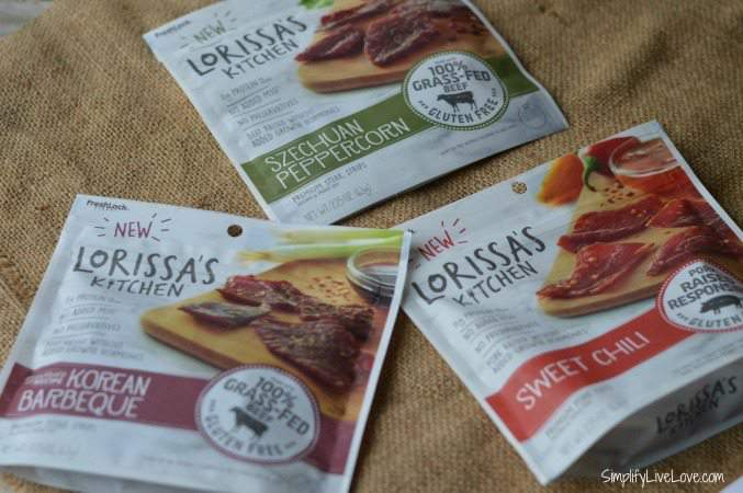 Lorissa's Kitchen jerky, must have in mom's road trip survival bag