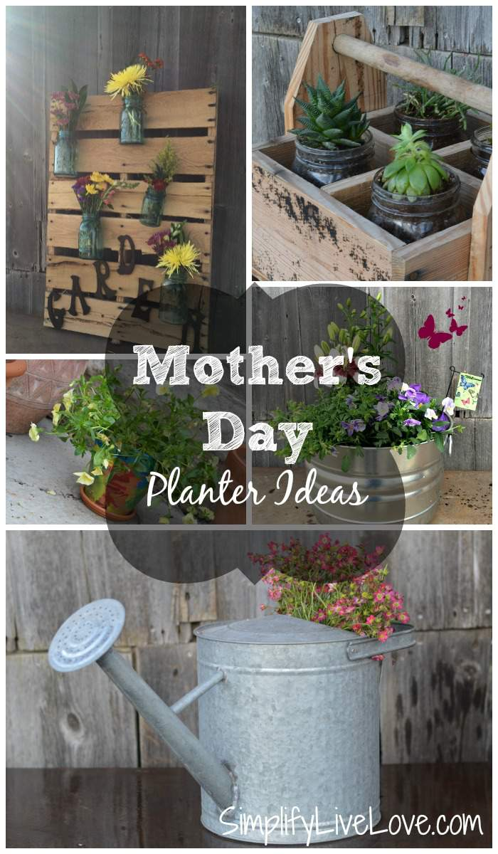 Mother's Day Planter Ideas