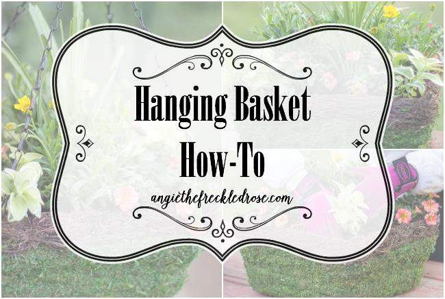 Hanging Basket how to