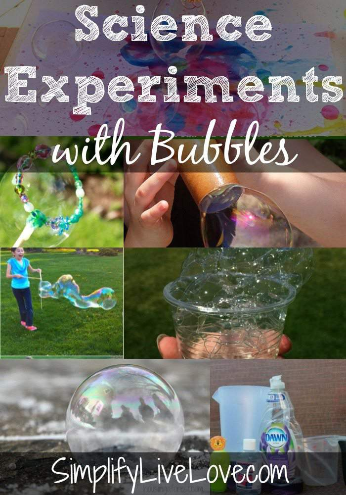 Science Experiments with Bubble