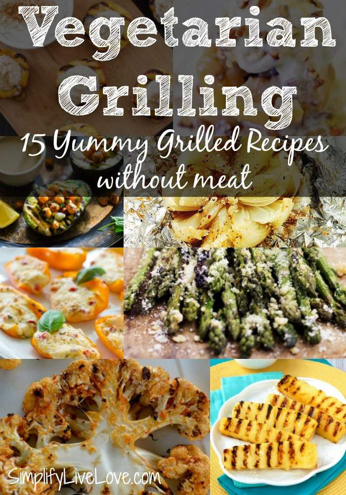Add a few grilled vegetable recipes to your grilling line-up with these 15 yummy grilled fruit & veggie recipes!