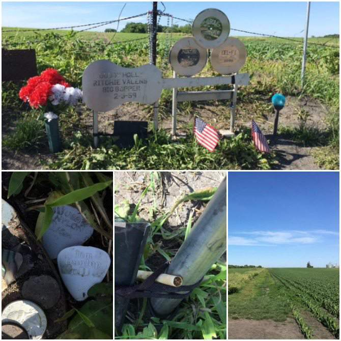 Buddy Holly Crash Site Shrine