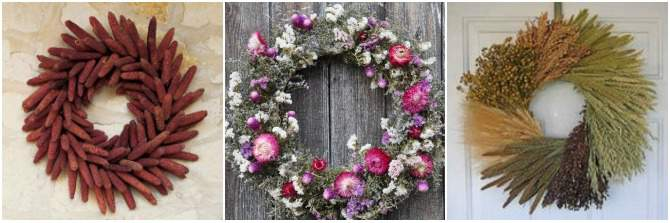 Ideas for Christmas in July Wreaths