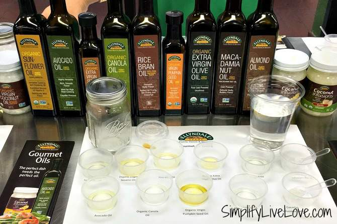 Oil Tasting at NOW Foods