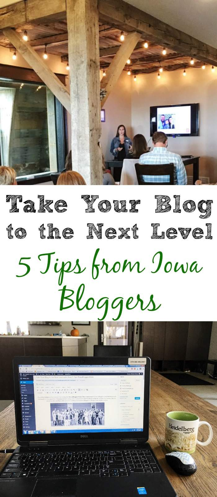 These tips from many Iowa Bloggers will help you take your blogging to the next level! IowaBloggersUnite2016