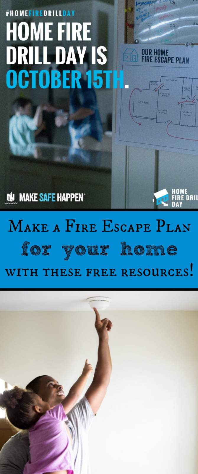 Make A Fire Escape Plan For Your Home Homefiredrillday