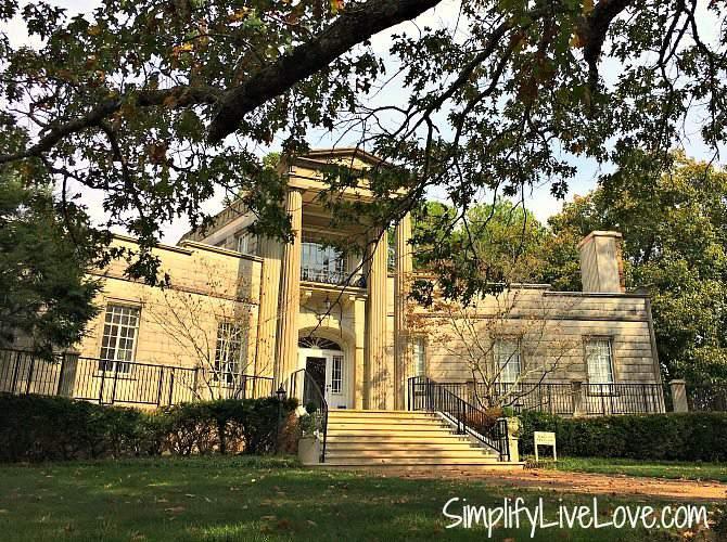 Burritt Mansion at Burritt on the Mountain Huntsville, AL