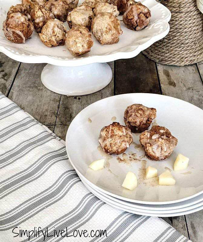 glazed-apple-fritter-cookie-bites-baked-not-fried