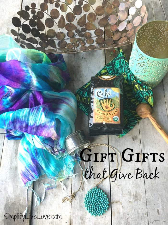 Make a Big Impact by Giving Gifts That Give Back {World Vision Giveaway}