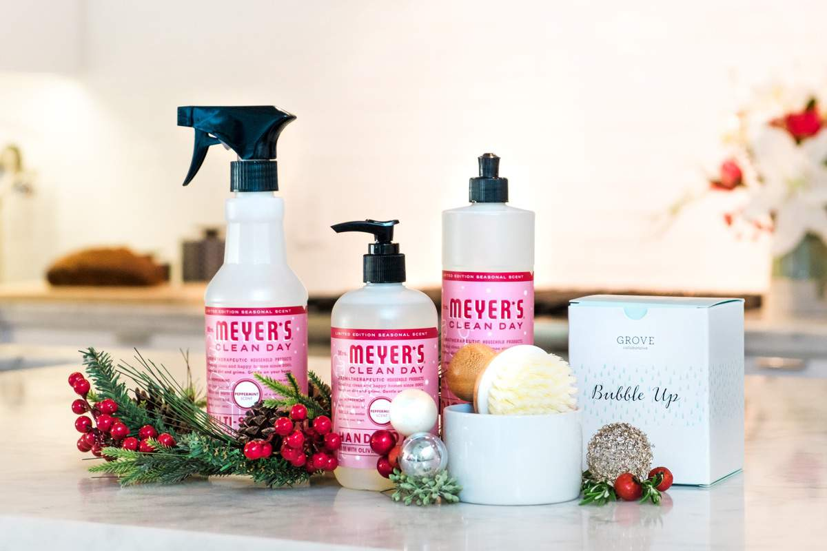 Get your free limited edition Holiday Mrs. Meyer's from Grove Collaborative
