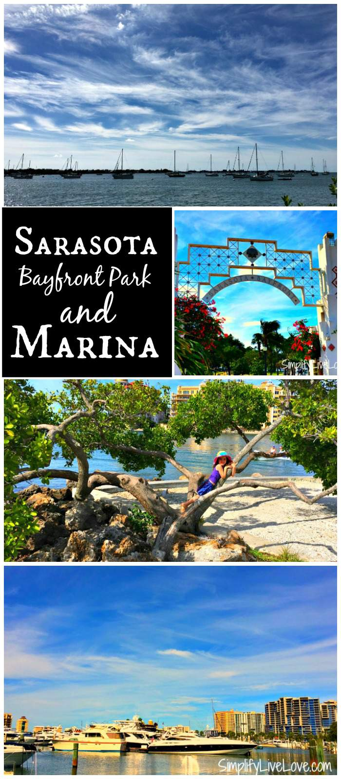 Sarasota Bayfront Park & Marina - fun place to spend the afternoon with your family or on your on.