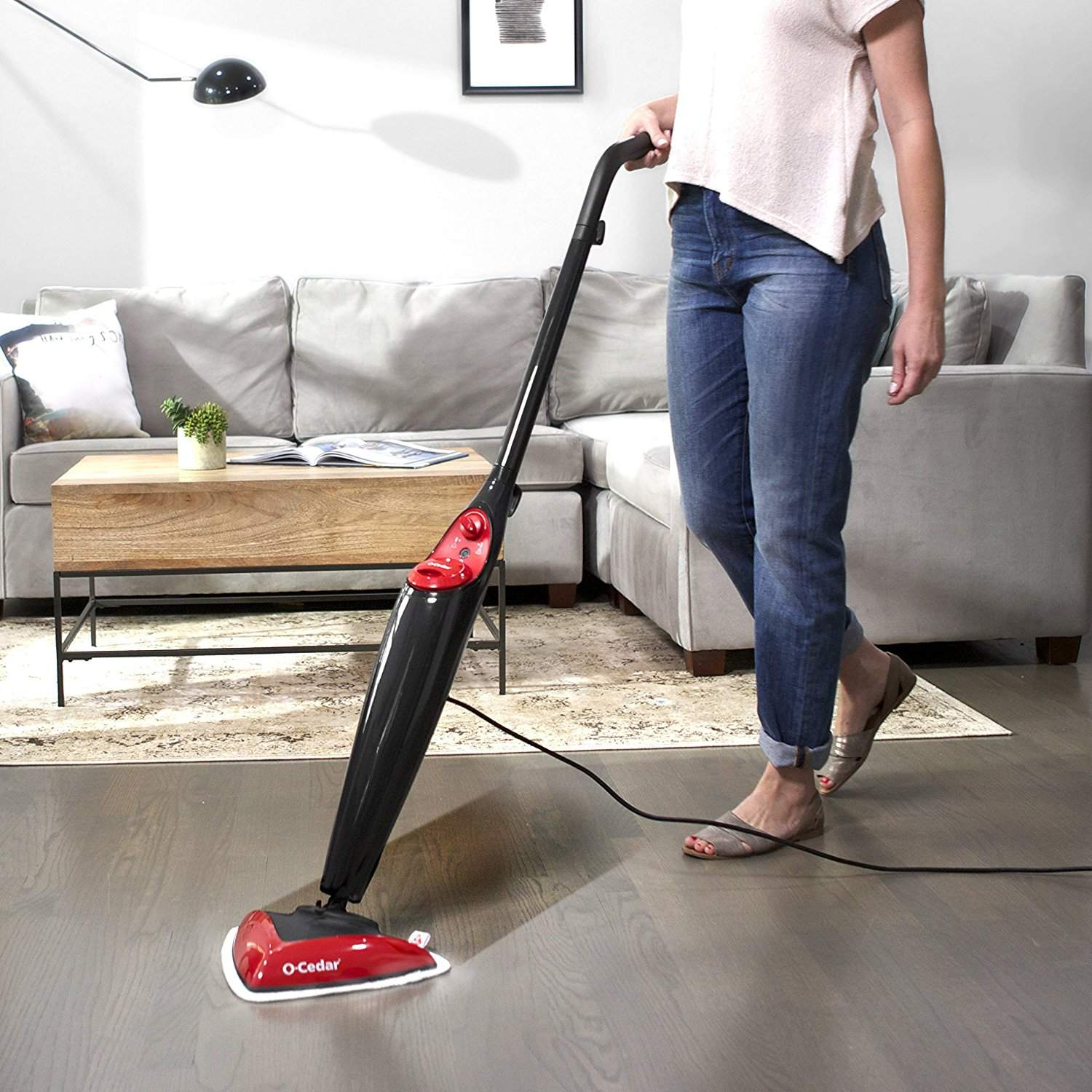 o'cedar steam mop