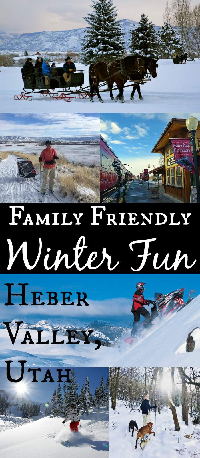 Family Friendly Winter Fun in Heber Valley, Utah