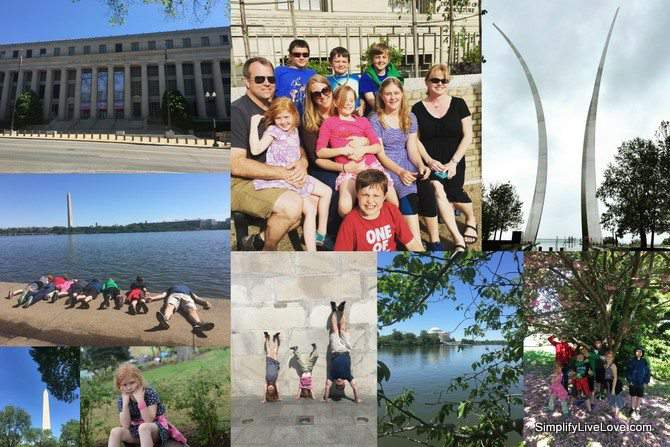2016 Year in Review - DC homeschooling on the road trip