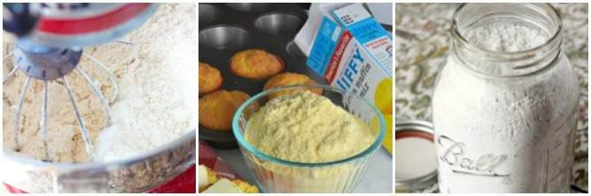 Homemad savory baking mixes