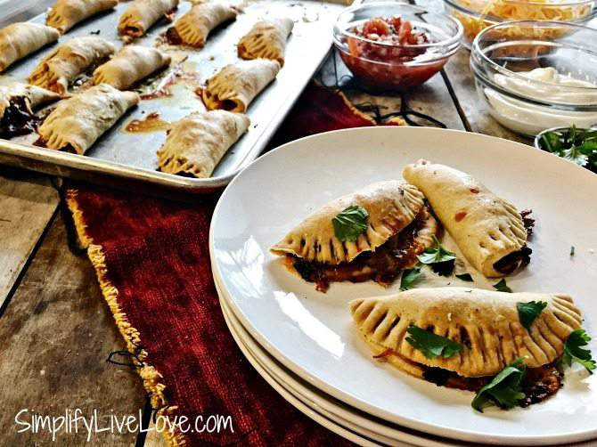 Make Ahead Appetizer Recipe – Baked Taco Empanadas