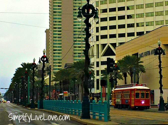 Ride a Street Car in New Orleans
